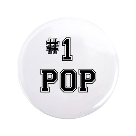 "#1 Pop 3.5"" Button (100 pack)"