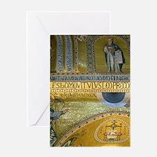 Italy, Sicily, Palermo, Cappella Pal Greeting Card
