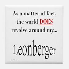 Leonberger World Tile Coaster