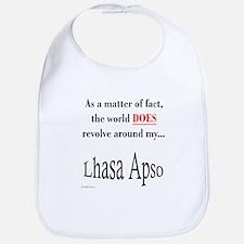Lhasa Apso World Bib