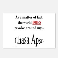 Lhasa Apso World Postcards (Package of 8)