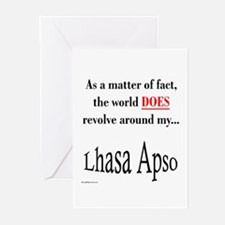Lhasa Apso World Greeting Cards (Pk of 10)