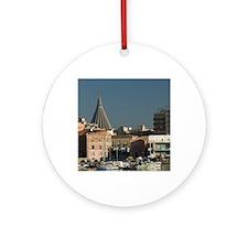 Italy, Sicily, Syracuse, Ortygia Is Round Ornament