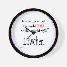 Lowchen World Wall Clock