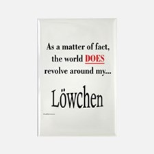 Lowchen World Rectangle Magnet