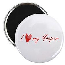 I Love My Yooper Magnet