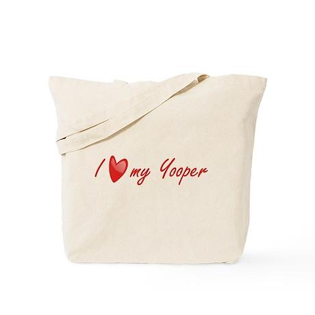 I Love My Yooper Tote Bag