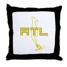 ATL CHAIN Throw Pillow
