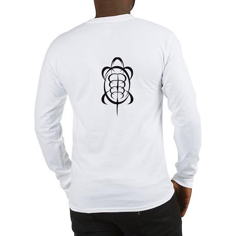 Tribal Turtle Long Sleeve T-Shirt