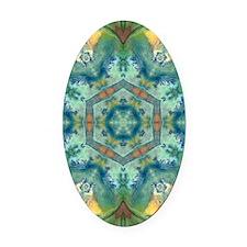 abundance-iPad2_Cover Oval Car Magnet