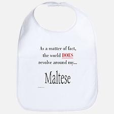 Maltese World Bib