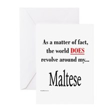 Maltese World Greeting Cards (Pk of 10)