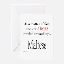 Maltese World Greeting Cards (Pk of 10)