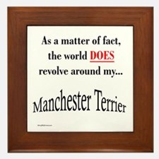 Manchester World Framed Tile