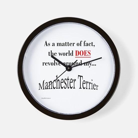Manchester World Wall Clock