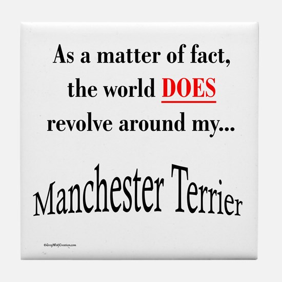 Manchester World Tile Coaster