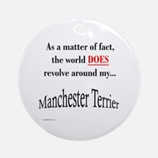 Manchester World Ornament (Round)