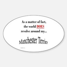 Manchester World Oval Decal
