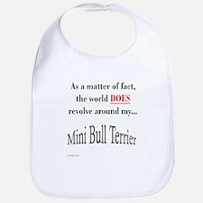 Mini Bull World Bib