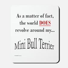 Mini Bull World Mousepad