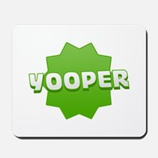 Yooper Badge Mousepad