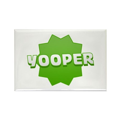 Yooper Badge Rectangle Magnet (100 pack)