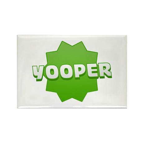Yooper Badge Rectangle Magnet