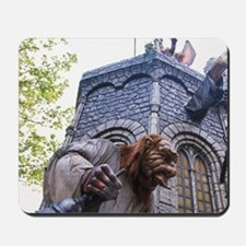 Haunted house at carnivald, Gouda, haunt Mousepad