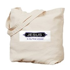Funny Final answer Tote Bag