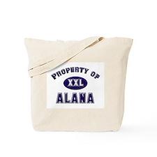 Property of alana Tote Bag
