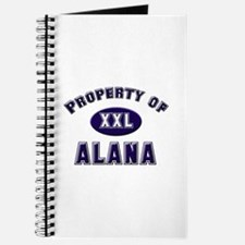 Property of alana Journal