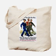 Gays Go To War Tote Bag