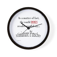 Min Pin World Wall Clock
