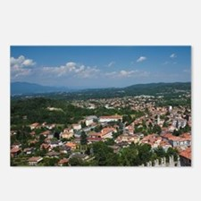 Angera. La Rocca fortress Postcards (Package of 8)