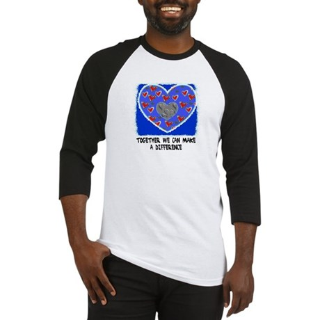 TOGETHER WE CAN MAKE A DIFFERENCE Baseball Jersey