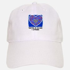 TOGETHER WE CAN MAKE A DIFFERENCE Baseball Baseball Cap