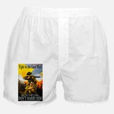 Fight to the Last Man Boxer Shorts