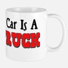 My Other Car Is A Fire Truck Mug