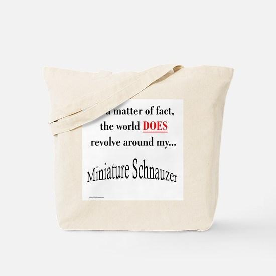 Schnauzer World Tote Bag