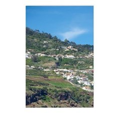 Funchal. Scenic coastal c Postcards (Package of 8)