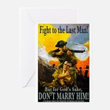 Fight to the Last Man Greeting Cards (10 Pk)
