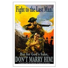 Fight to the Last Man Large Poster