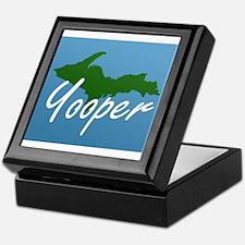 Yooper Blue Keepsake Box