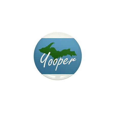 Yooper Blue Mini Button