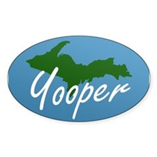 Yooper Blue Oval Decal