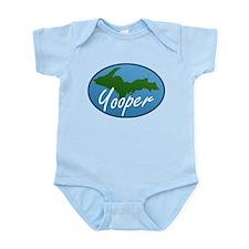 Yooper Blue Infant Bodysuit