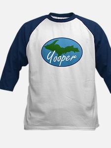 Yooper Blue Kids Baseball Jersey