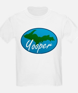 Yooper Blue Kids T-Shirt
