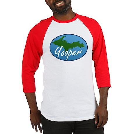 Yooper Blue Baseball Jersey