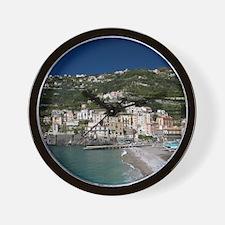 (Amalfi Coast) Maiori: Town View with B Wall Clock